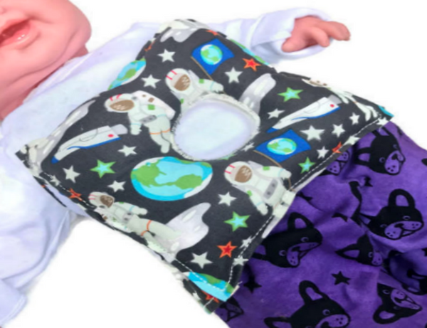 Astronaut G-Tube Pillow - Lil' Bayou Boutique