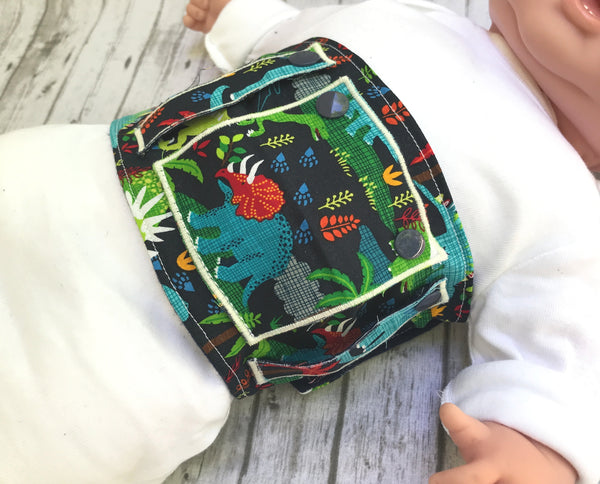 Dinosaur Feeding Tube Belt - Lil' Bayou Boutique