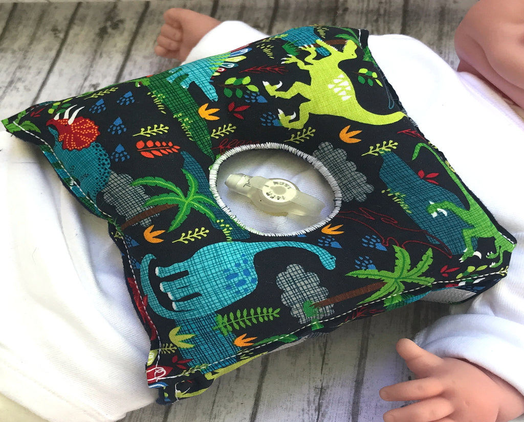 Dinosaur Feeding Tube Pillow - Lil' Bayou Boutique