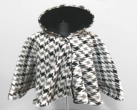 Houndstooth Car Seat Poncho - Lil' Bayou Boutique