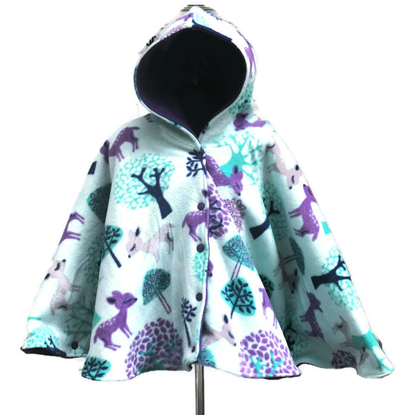 Deer Poncho - Lil' Bayou Boutique