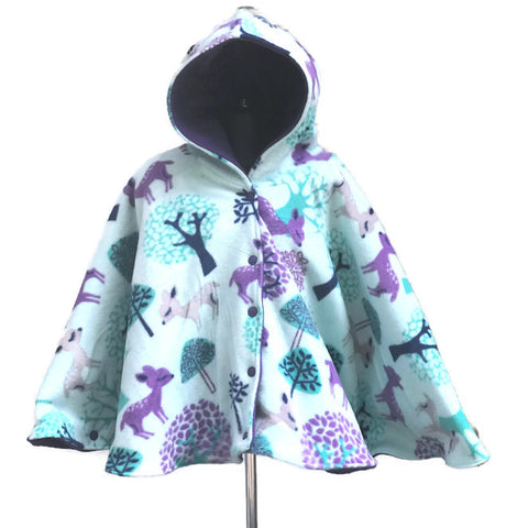 Woodland Car Seat Poncho - Lil Bayou Boutique