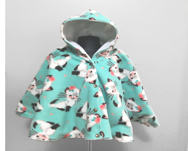 Cat Car Seat Poncho - Lil' Bayou Boutique