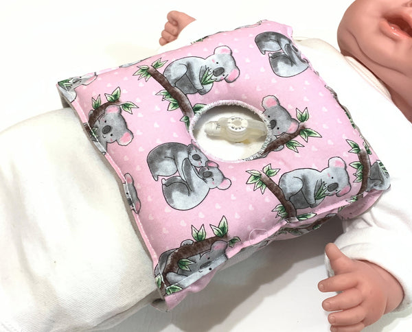 Koala Bear Feeding Tube Pillow - Lil' Bayou Boutique