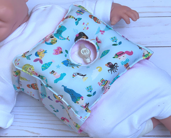 Mermaid Tummy Time Pillow