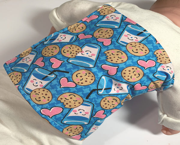 Tummy Time pillow for girl