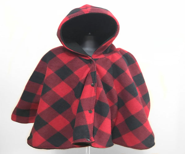 Plaid baby poncho - Lil Bayou Boutique