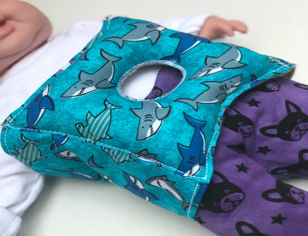 Shark G-Tube Pillow - Lil' Bayou Boutique