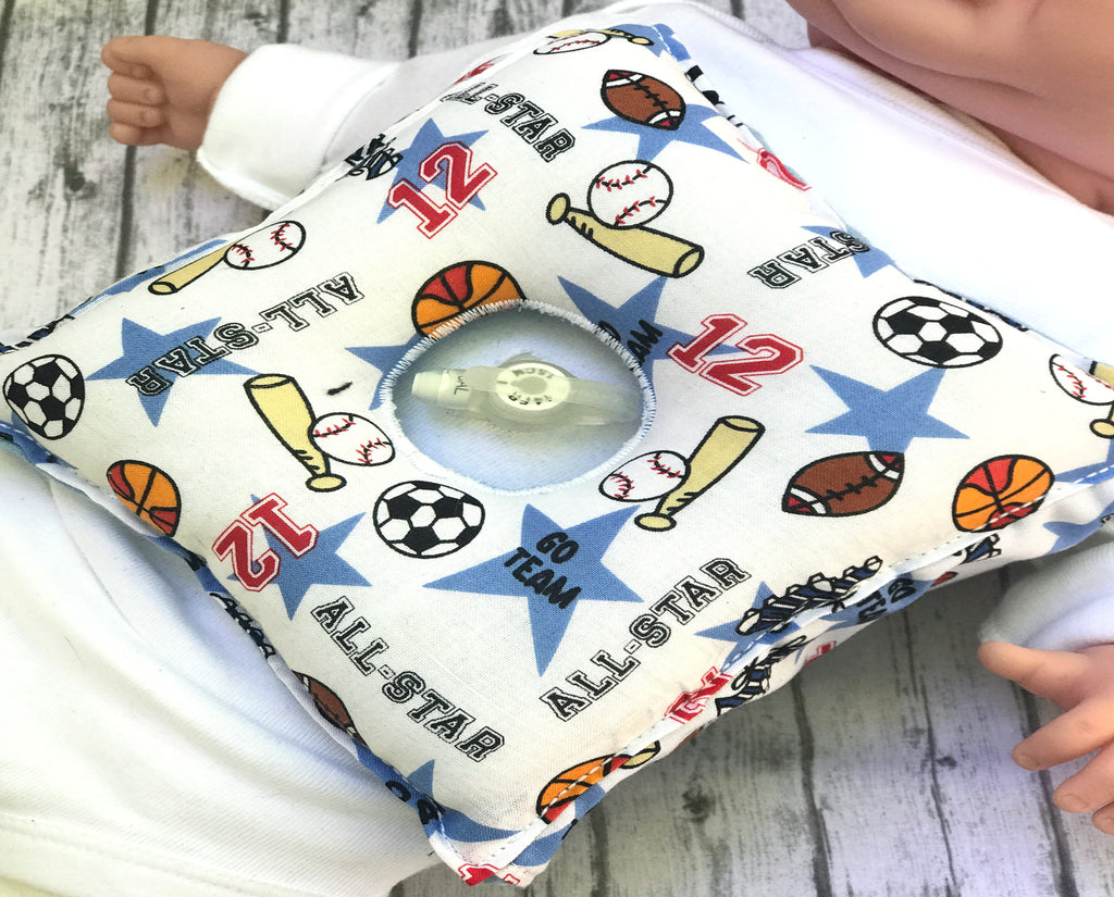 Boys G-Tube Pillow - Lil' Bayou Boutique
