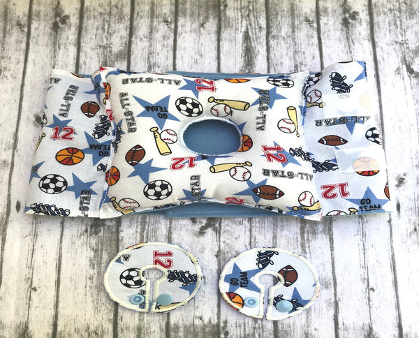 Boys Tummy Time Pillow - Lil' Bayou Boutique