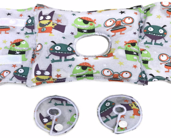 Monsters G-Tube Pillow - Lil' Bayou Boutique