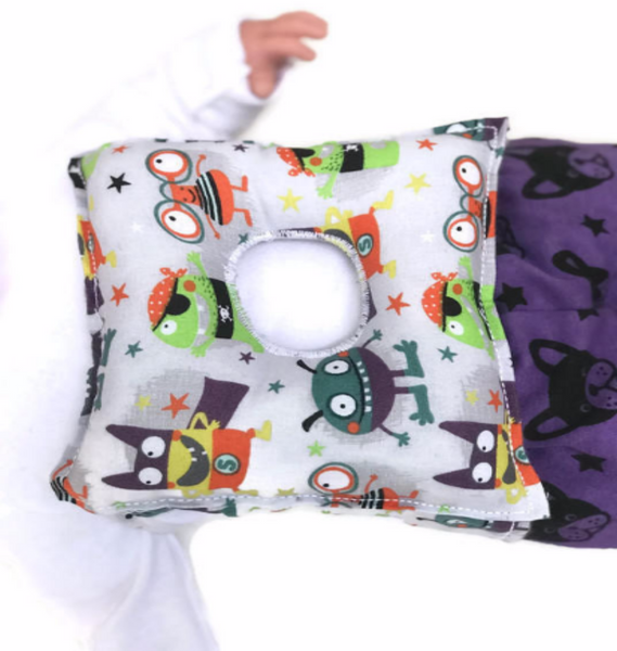 Superhero Monsters G-Tube Pillow - G-tube Pillows - Lil' Bayou Boutique