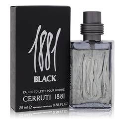 1881 Black Cologne EDT for Men | Nino Cerruti
