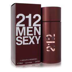 Carolina Herrera 212 Sexy Cologne EDT for Men