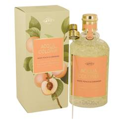 4711 Acqua Colonia White Peach & Coriander Eau De Cologne Spray (Unisex) By Maurer & Wirtz - Fragrance.Sg