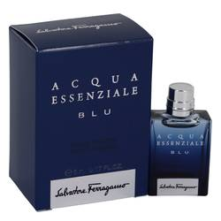 Acqua Essenziale Blu Mini EDT By Salvatore Ferragamo - Fragrance.Sg