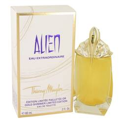 Alien Eau Extraordinaire EDT for Women Gold Shimmer Edition | Thierry Mugler - Fragrance.Sg