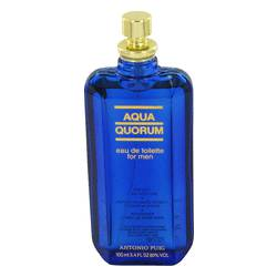 Aqua Quorum Eau De Toilette Spray (Tester) By Antonio Puig - Fragrance.Sg