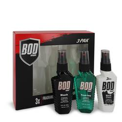 Bod Man Black Cologne Gift Set for Men | Parfums De Coeur