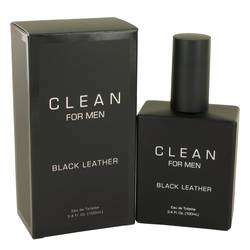 Clean Black Leather EDT for Men