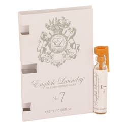 English Laundry No. 7 Vial