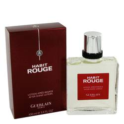 Guerlain Habit Rouge After Shave for Men