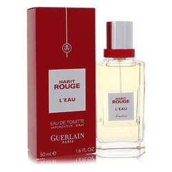 Guerlain Habit Rouge L'eau EDT for Men