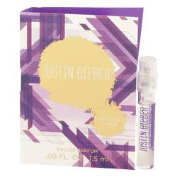 Justin Bieber Collector's Edition Vial