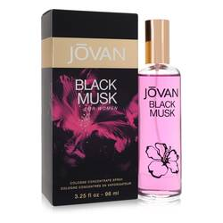 Jovan Black Musk Cologne Concentrate Spray for Women