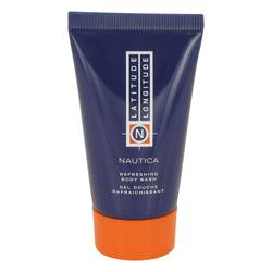 Nautica Latitude Longitude Body Wash Shower Gel