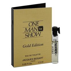 Jacques Bogart One Man Show Gold Vial