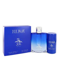 Original Penguin Ice Blue Cologne Gift Set for Men