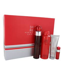 Perry Ellis 360 Red Cologne Gift Set for Men