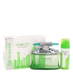 Sex In The City Kiss EDP for Women + Free 1.7 oz Deodorant Spray