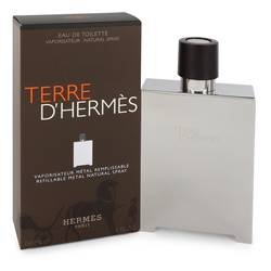 Hermes Terre D'hermes Refillable EDT for Men (Metal)