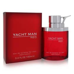 Yacht Man Red EDT for Men | Myrurgia