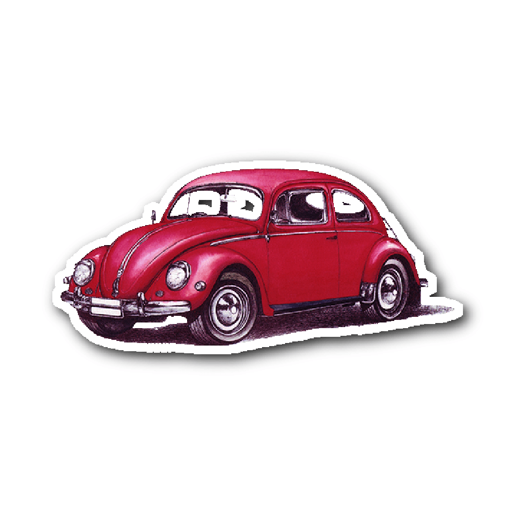 Stickers - VW BUG STICKER LIMITED EDITION