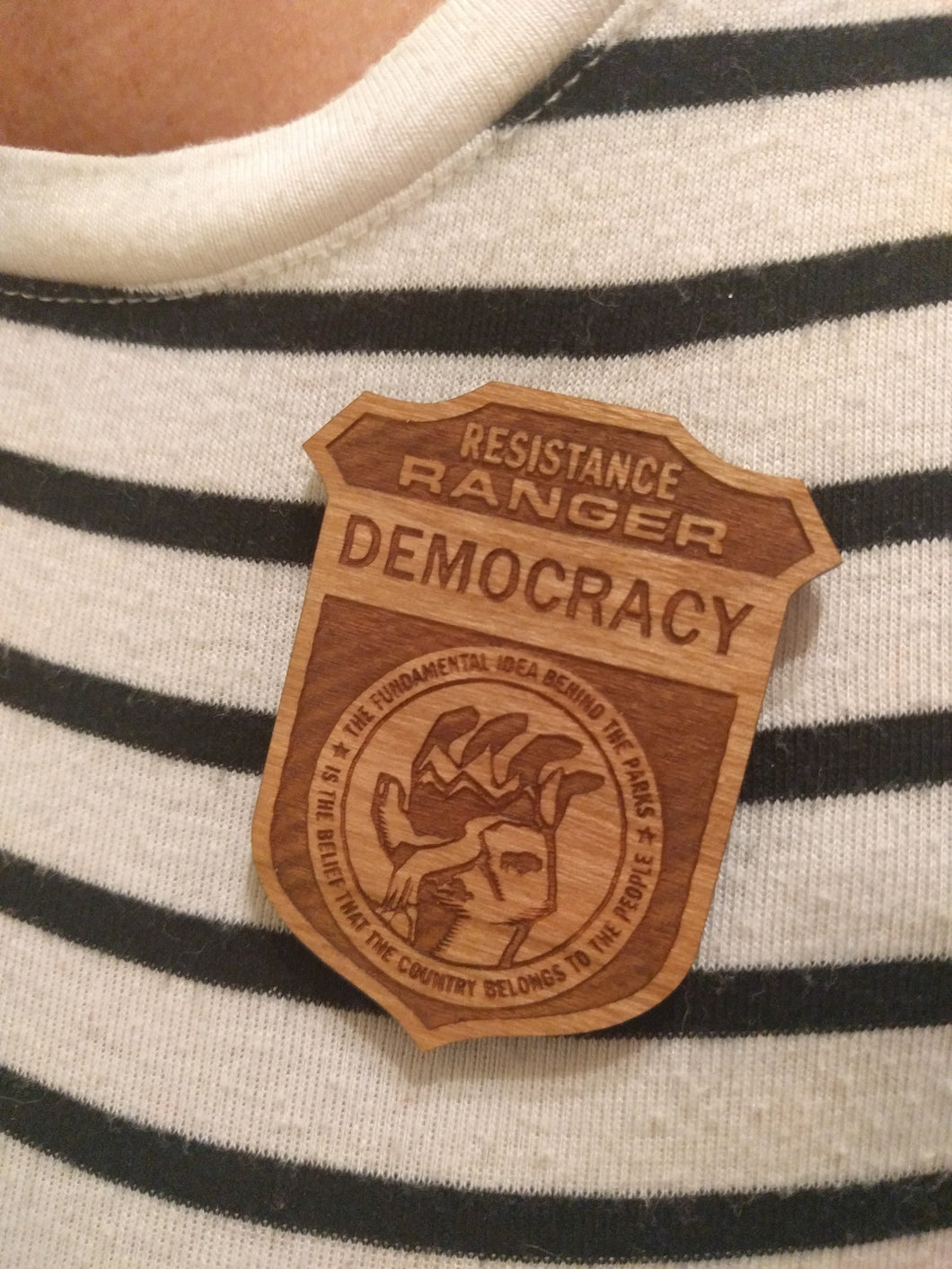 Resistance Ranger Badge