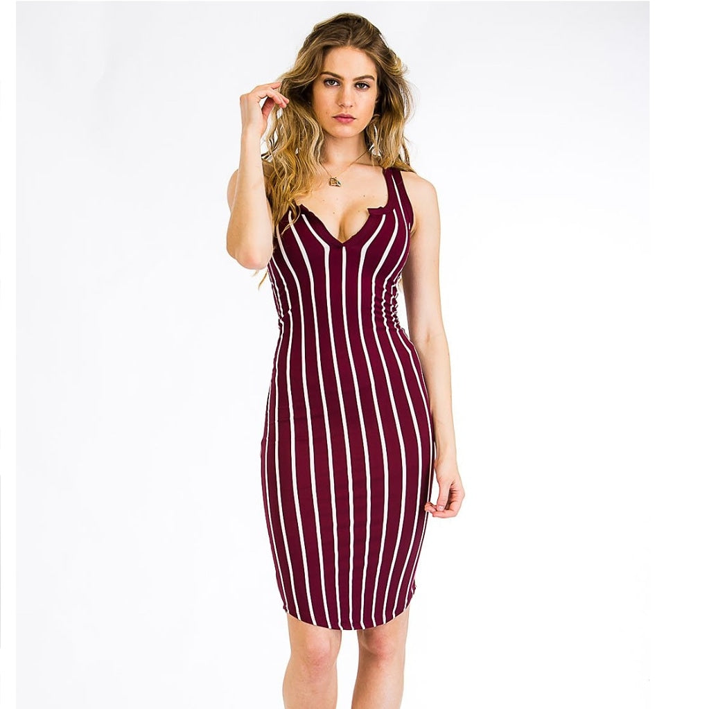 Wanderlust Dress Burgundy