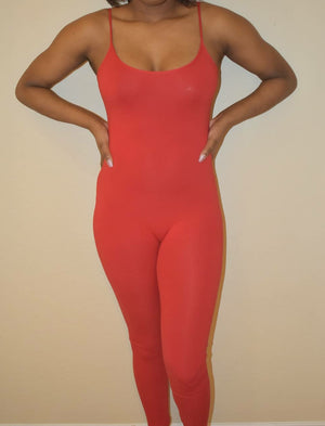 Candy Apple Cami Jumpsuit