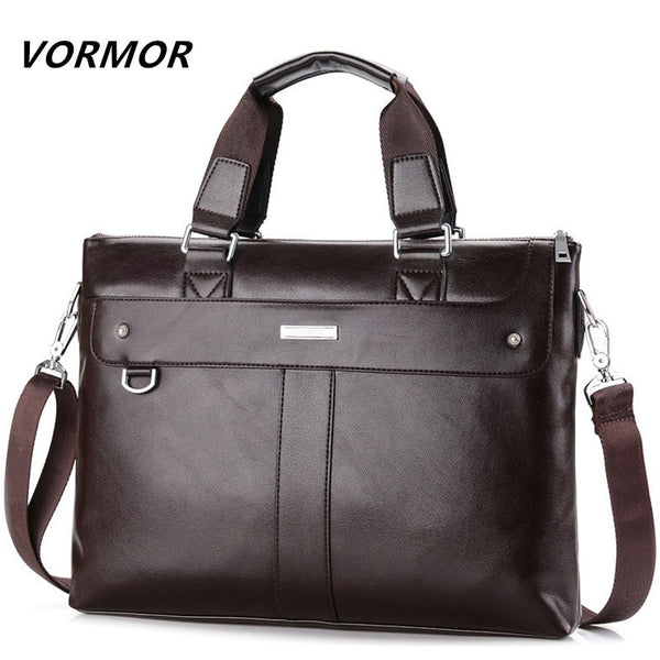 **NEW** VORMOR 2019 Men's Business Satchel / Briefcase - Black or Brown Available