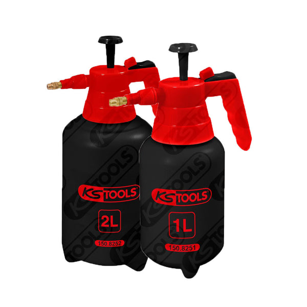 ks tools - trykkpumpe - 1 liter & 2 liters