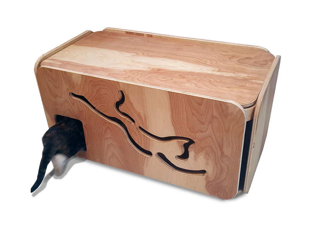 Litter Box / Cat Furniture / Cat Lover / Litter Box Enclosure / Litter Box  Cover