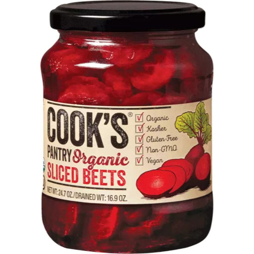Cook's Pantry Sliced Beets Certified Organic