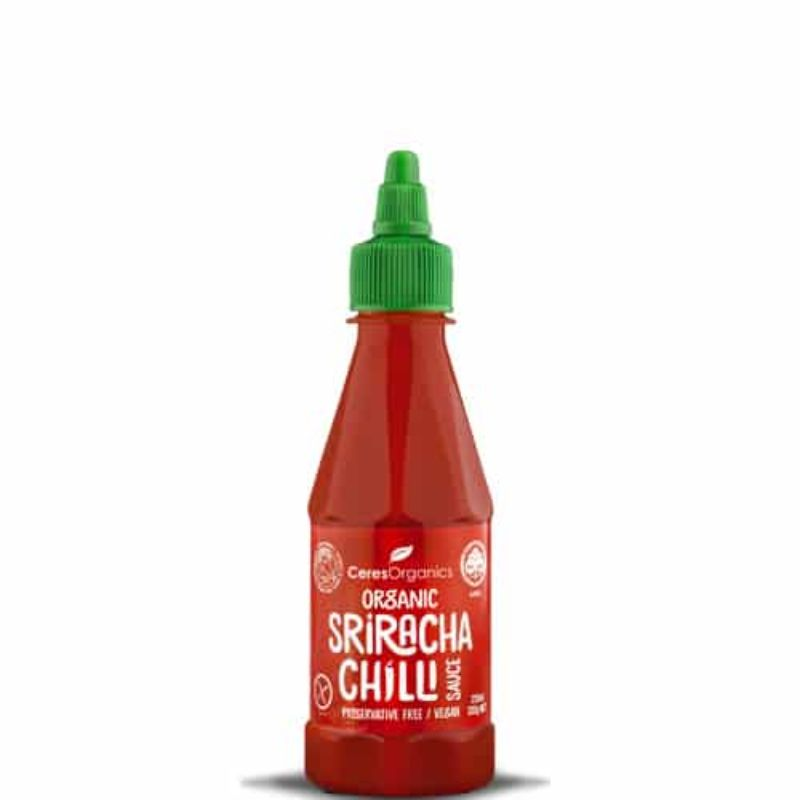 Sriracha Chilli Sauces 250ml Certified Organic