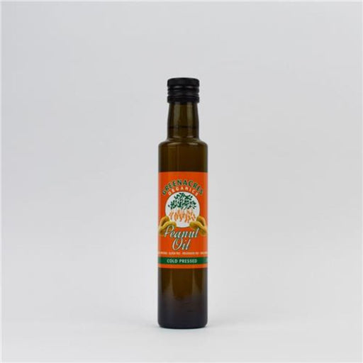 Peanut Oil Cold Pressed Organic