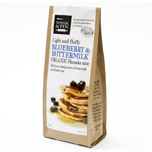Blueberry & Buttermilk Pancake Mix Organic 400g