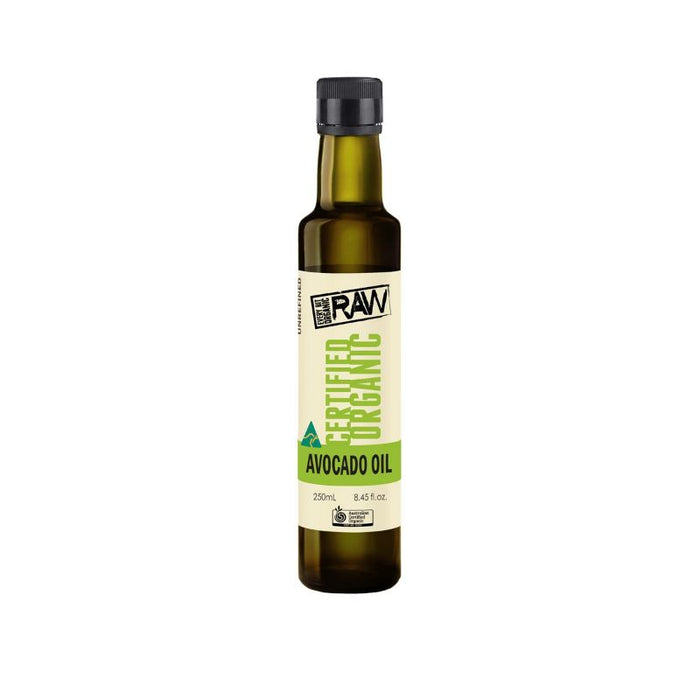 Avocado Oil 250ml Certified Organic