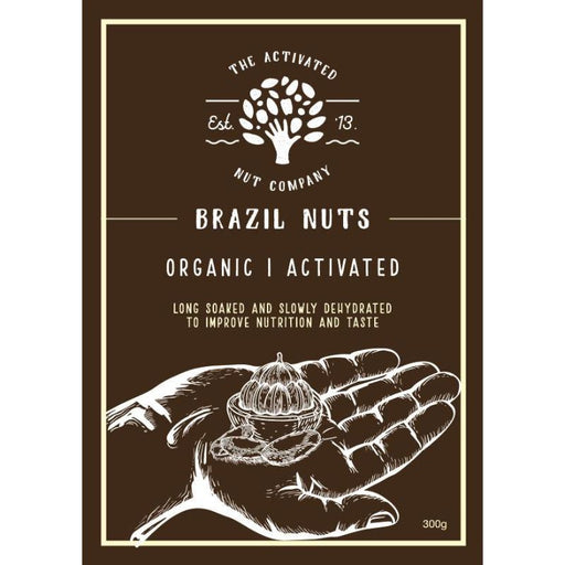 Activated Brazilian Nuts 300g Certified Organic