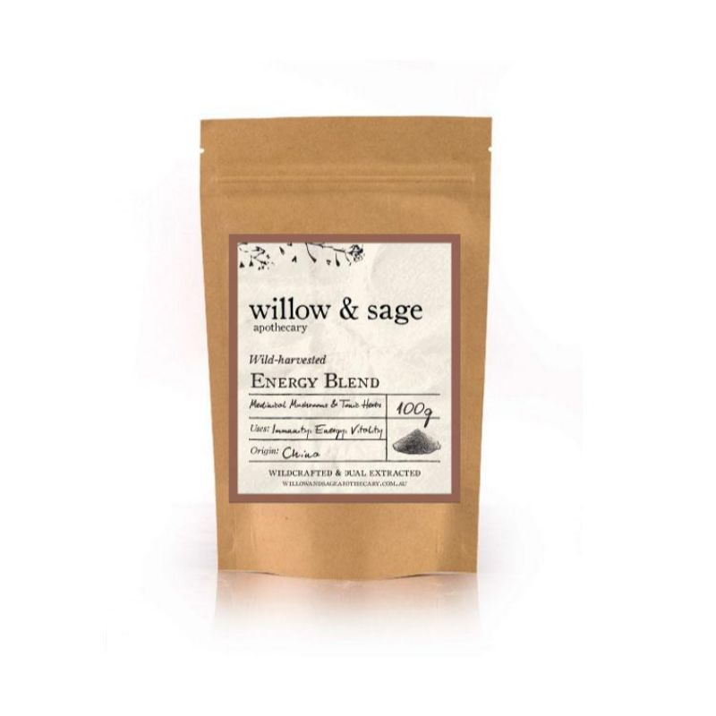 Willow & Sage Energy Blend 50g